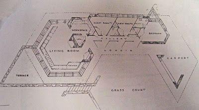 House Plans Walker House Walker House Frank Lloyd Wright Frank Lloyd Wright Homes