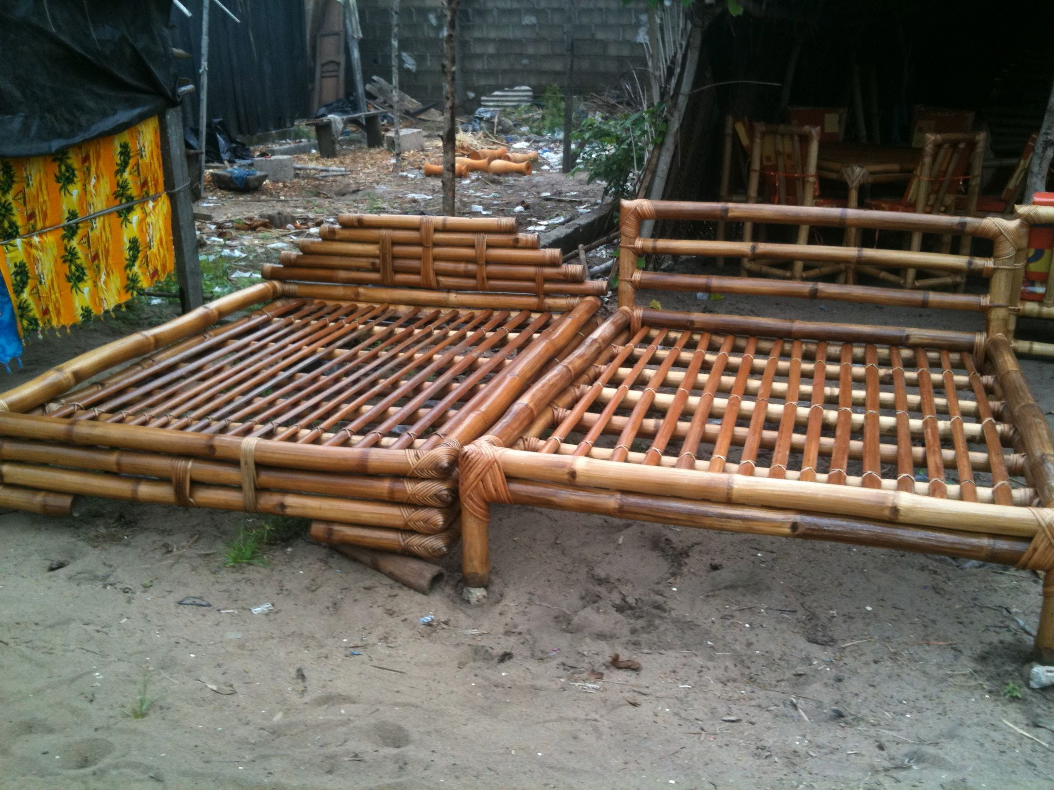 Best Bamboo Beds From Bassam Cote D Ivoire Contact Me For 640 x 480