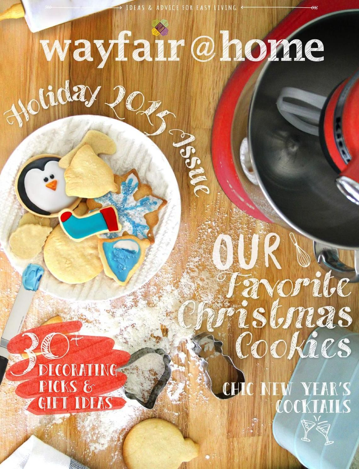 #ClippedOnIssuu from Wayfair@Home Holiday 2015 Issue
