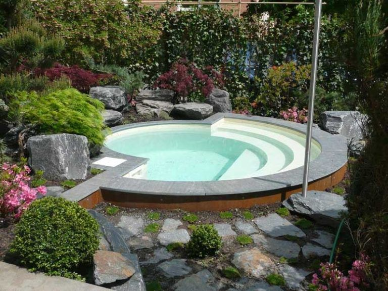 Ansicht Kleiner Garten Pool Gestaltung Optionen Haus Dekorieren nach ...
