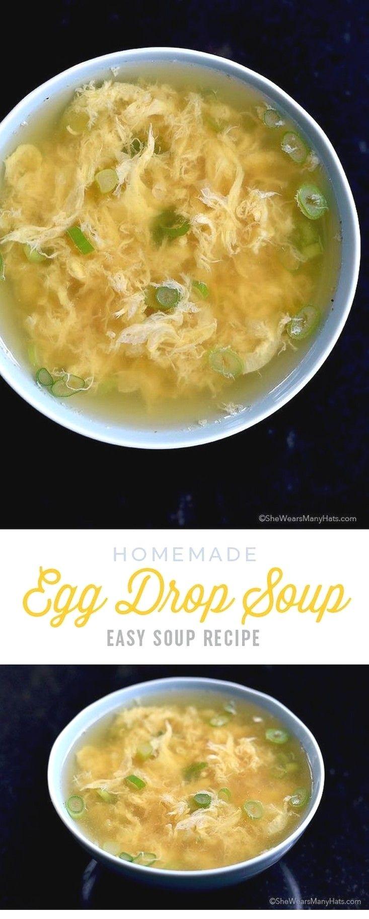 Soup Recipes Ideas   Egg Drop Soup images