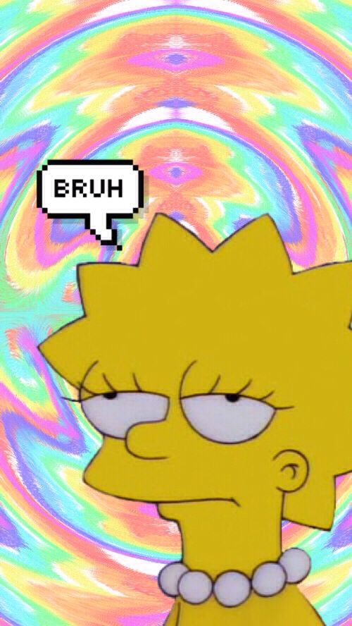 Lisa Simpson Simpson wallpaper iphone, Character