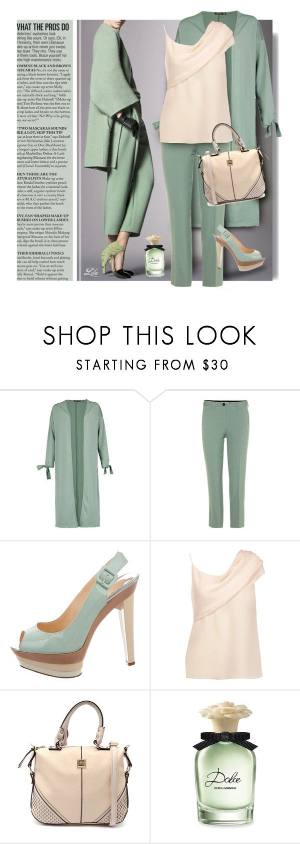 """""""Chic Getaway"""" by breathing-style ❤ liked on Polyvore featuring Boohoo, Miu Miu, Christian Louboutin, Cushnie Et Ochs and Dolce&Gabbana"""