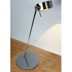 Photo of Top Light Puk Maxx Table Halogen Tischleuchte (80cm) chrom Glas matt / Glas matt 80cm Standard-Fassu