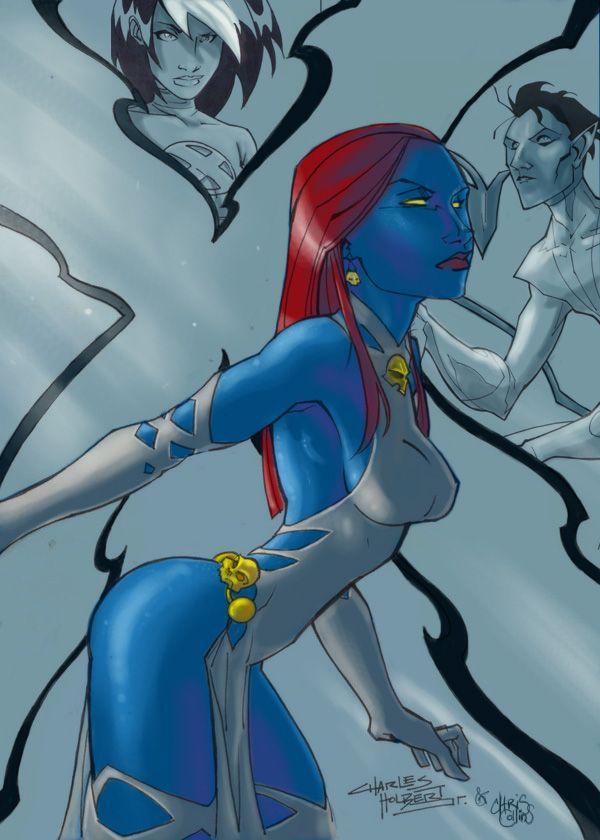 Chris N Kid S Mystique By Slippyninja On Deviantart Mystique Marvel Mystique Art Mystique
