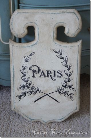 French Sign   French Decorating Ideas   French signs, Wood ...