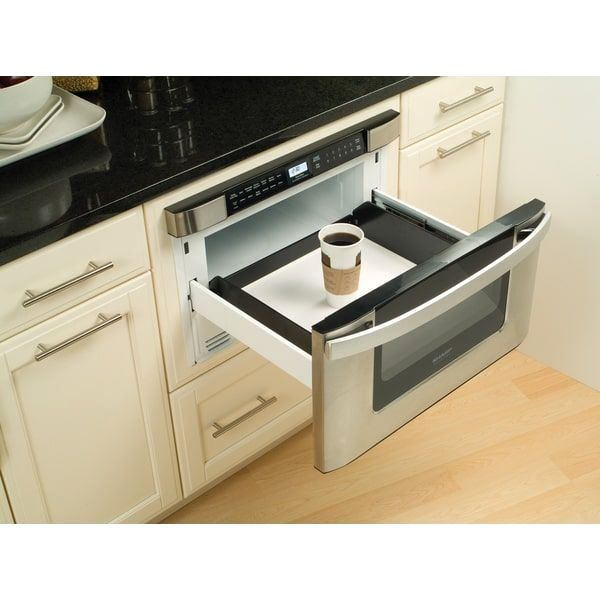 Sharp Insight Pro Series Built In 24 Inch Microwave Drawer