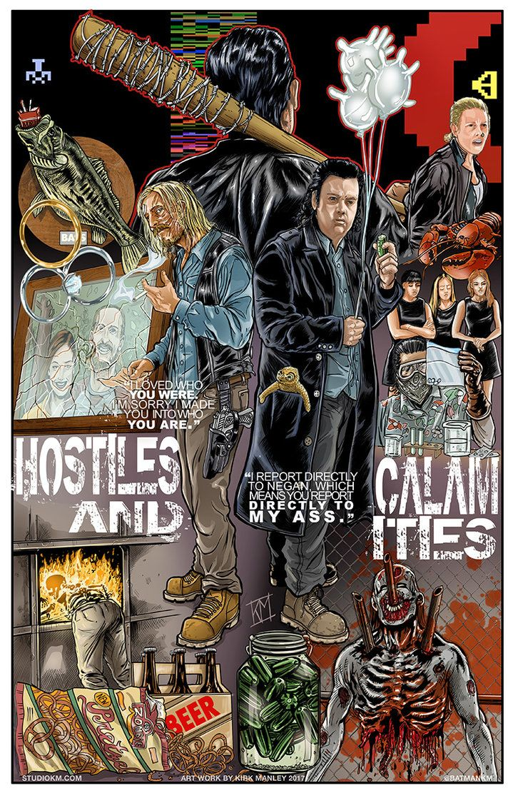 7 10 Hostiles And Calamities By Batmankm Walking Dead Art Fear The Walking Dead Walking Dead Fan Art