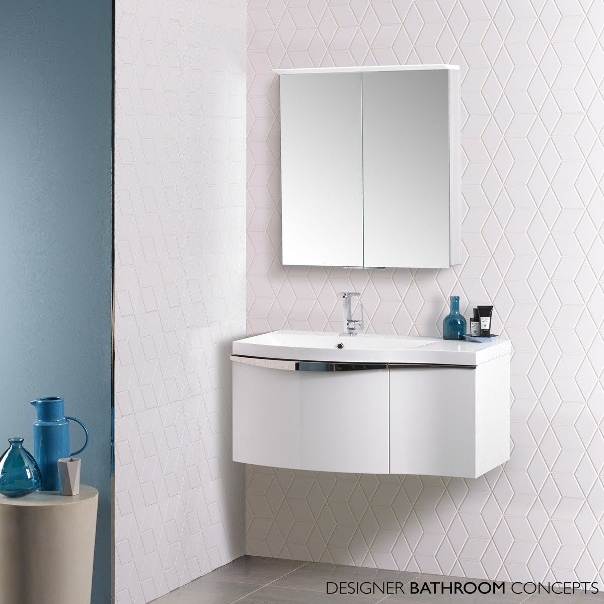 Roper Rhodes Serif 900mm Modular Bathroom Vanity Unit White