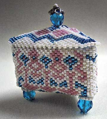 Bead Box   Beading-Vessels, Thimbles, Etc.   Beads, Beaded ...