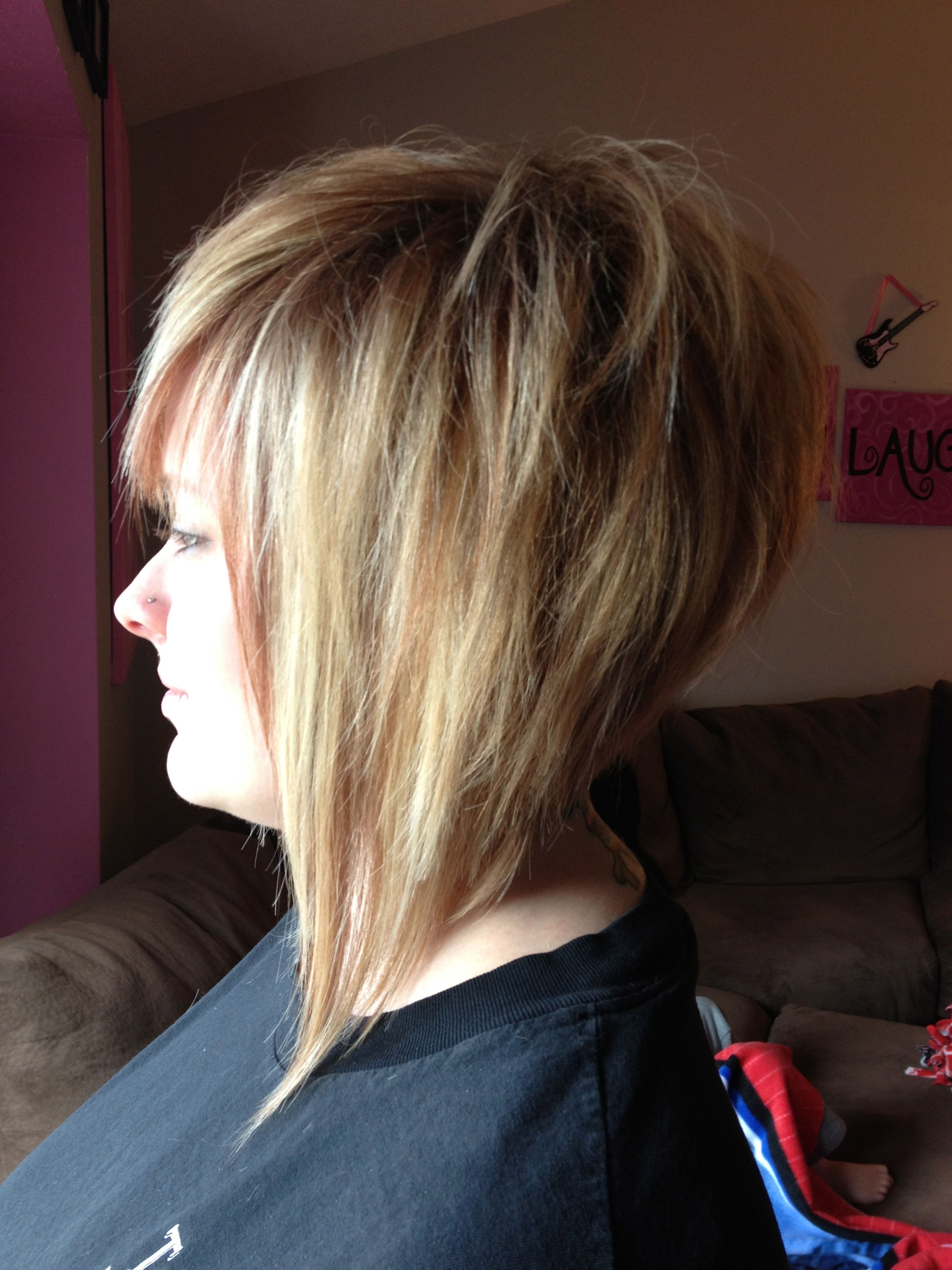 Cute hairlove how short and funky this is it would look great