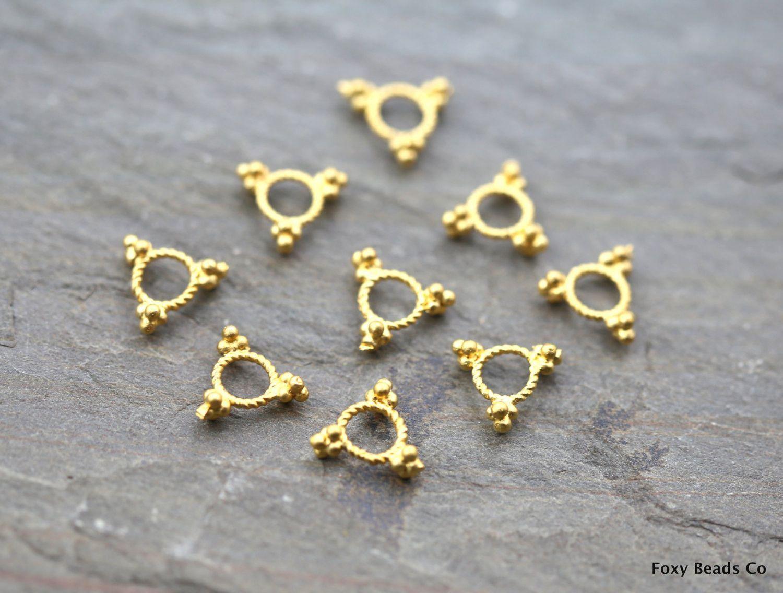 Mini Ring Spacer Beads Ring Beads Ring Spacer Donut Beads