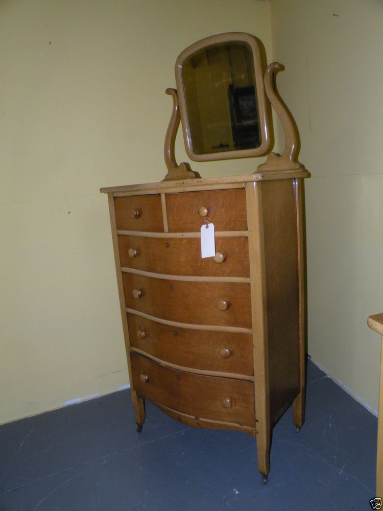 Antique Birdseye Maple Bedroom