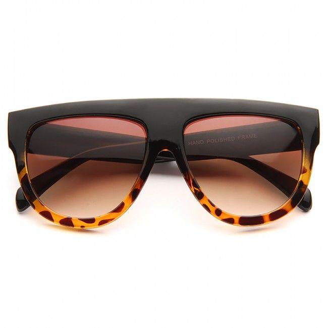 bbf080ffa22 Shadow Designer Inspired Flat Top Sunglasses