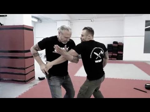 SAMI Combat Systems - Elbow Basic Training Part 3 Trapping Series & Hubud (Weckauf Peter) - YouTube
