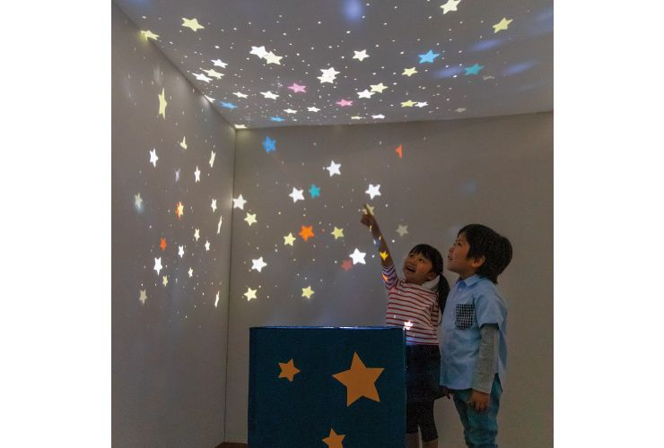 たなばた 保育室を星空に 手作りプラネタリウム 画像あり 保育