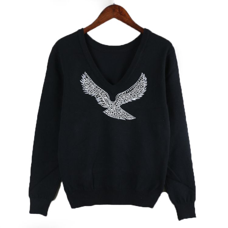 Sequin Dove Jumper Sweaters For Women Clothes For Women Sweaters