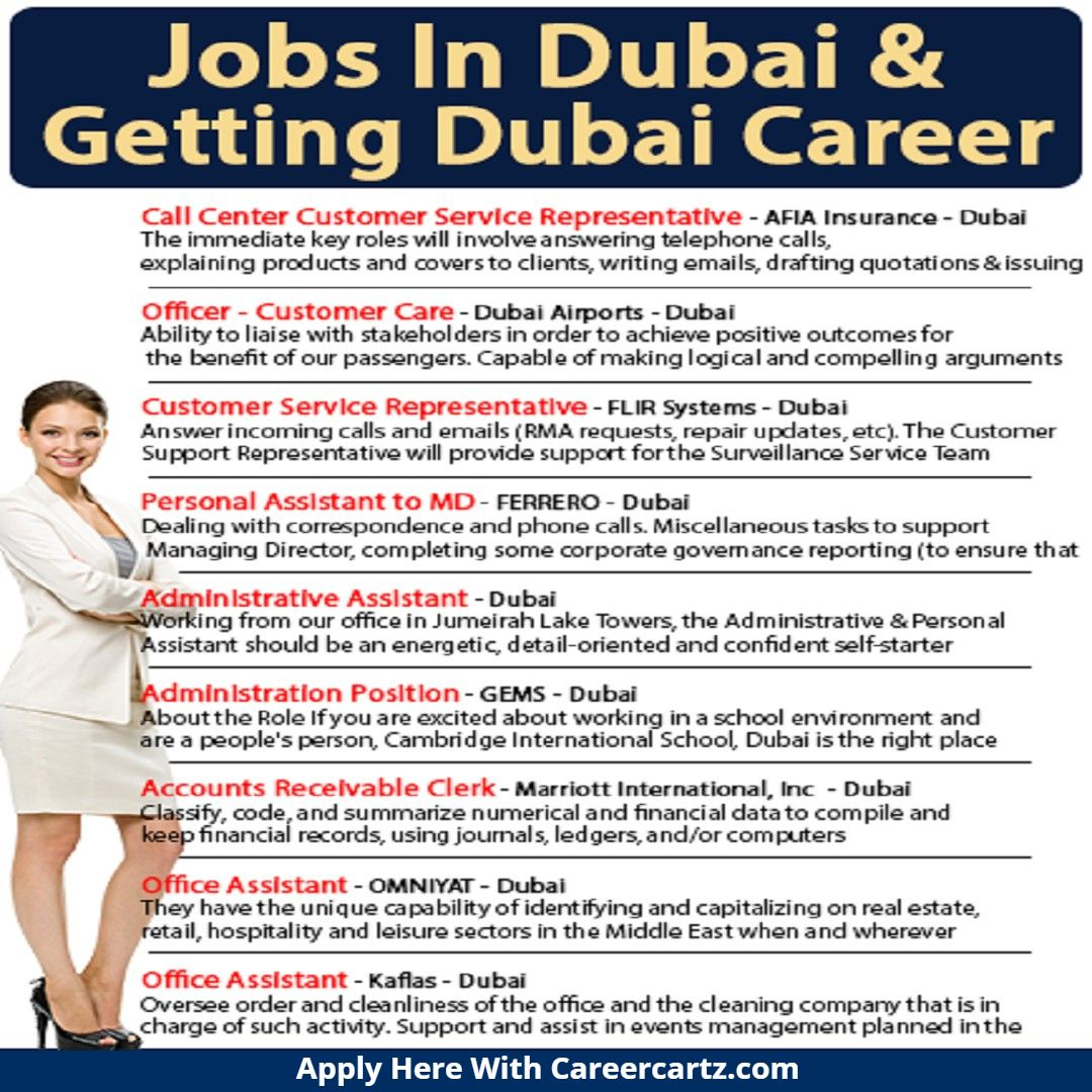 Jobs And Careers In Dubai Current Job Job Job Seeker