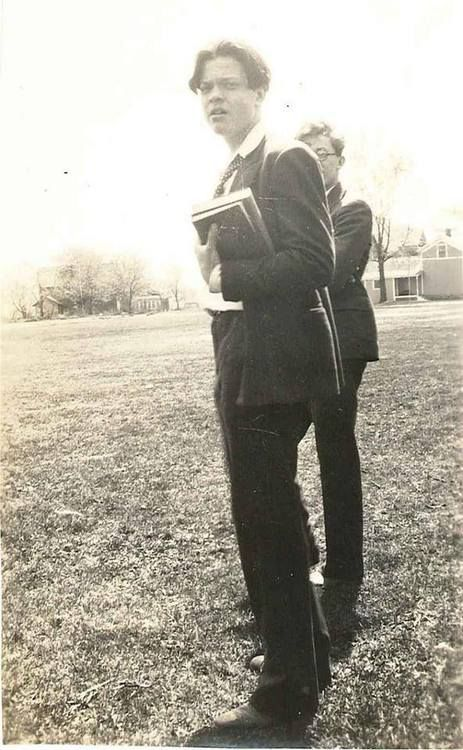 young orson welles as a student