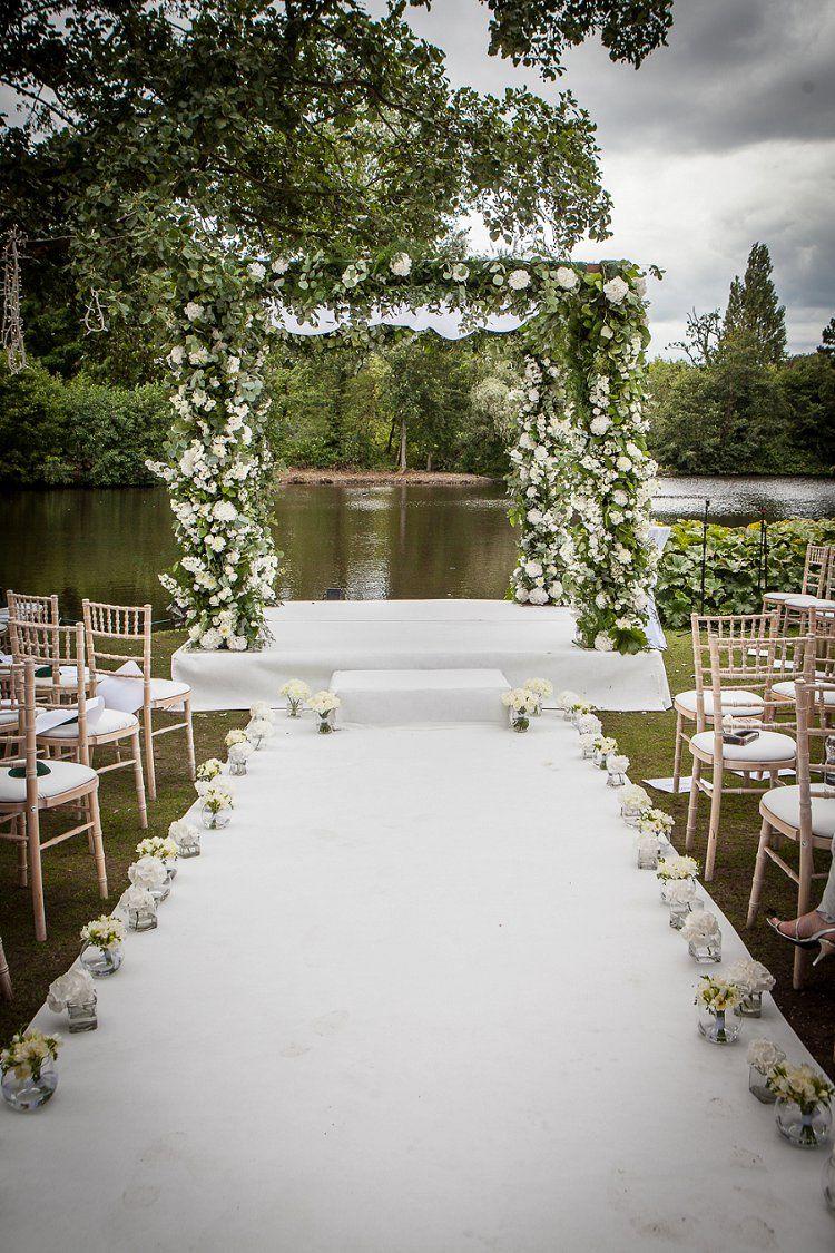 A Stewart Parvin Bride for an Epic Secret Garden Jewish Wedding with ...