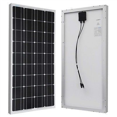 100 Watt Solar Panel 12v Battery Charging Rv Camping Solar Panels 100 Watt Solar Panel Rv Solar Power