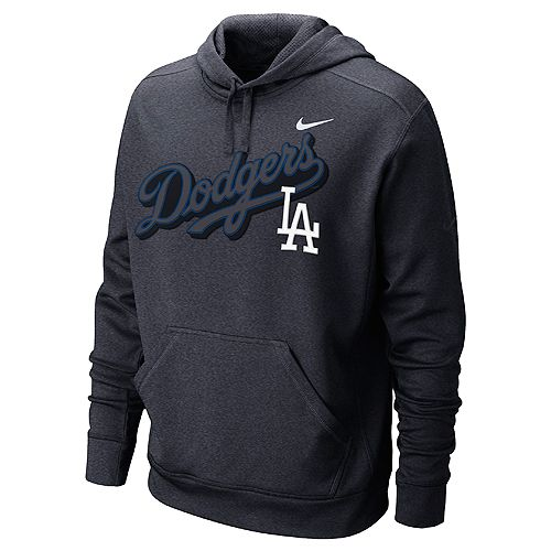 Los Angeles Dodgers Ko Therma Fit Hooded Sweatshirt By Nike