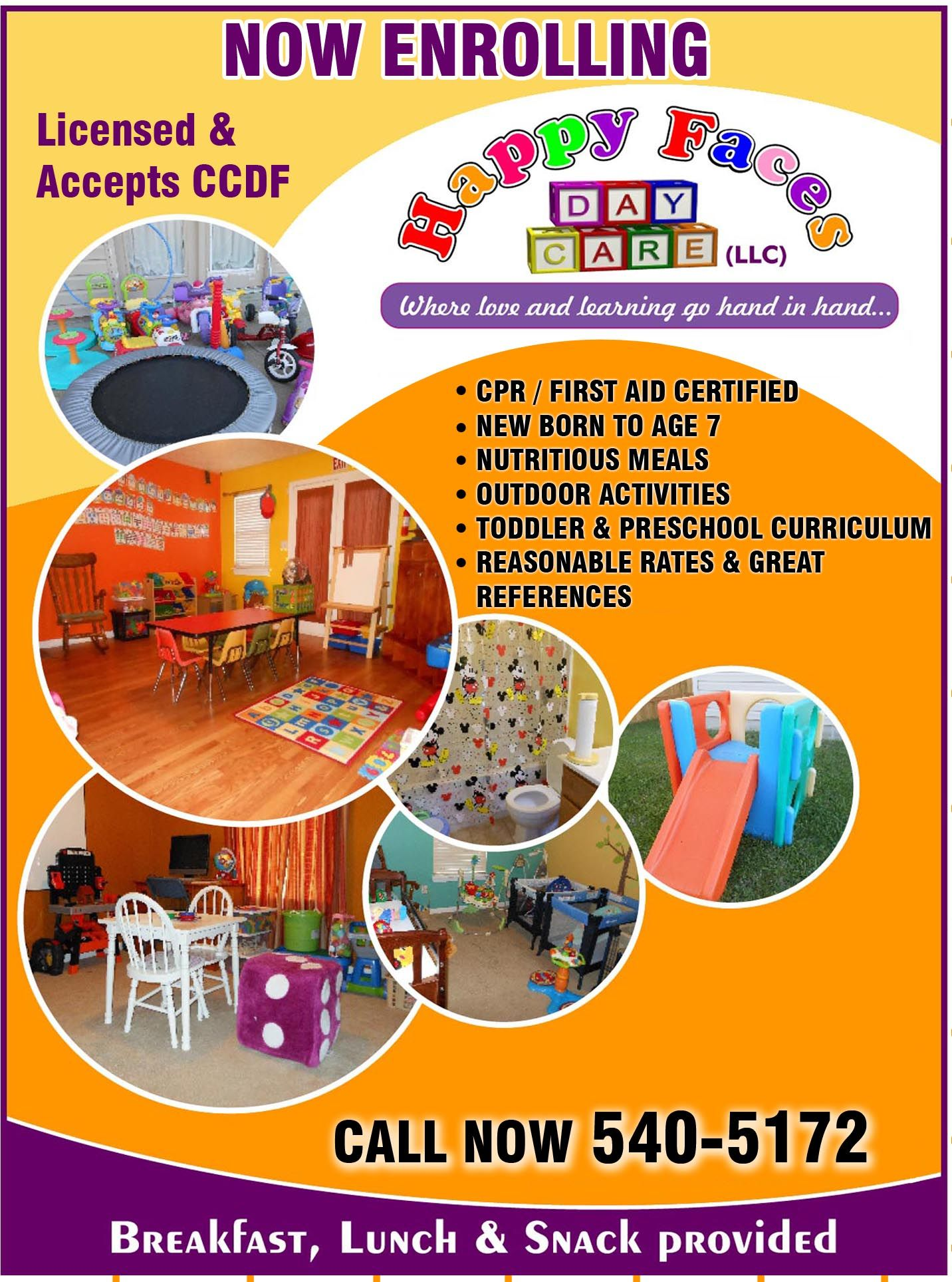 Childrens Daycare Daycare Preschool Provider Preschool: Like Space Bubbles (With Images)