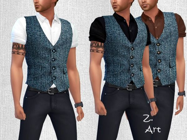 Sims 4 CC's - The Best: Clothing by Zuckerschnute20