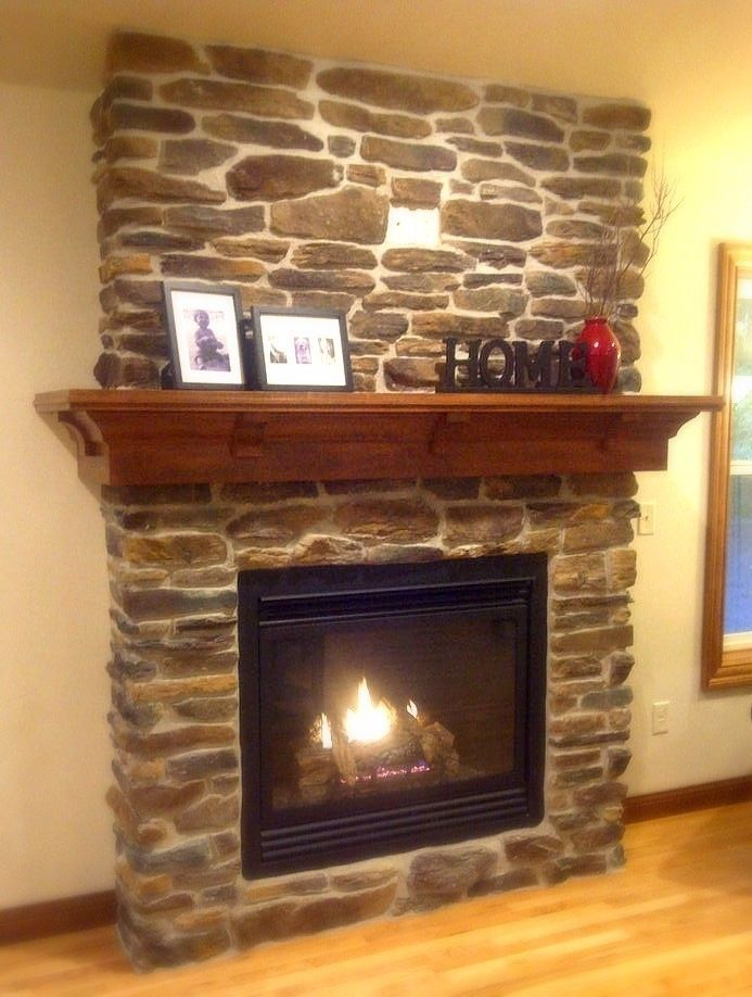 Fantastisch Custom Made Maple Mantel  Craftsman Style