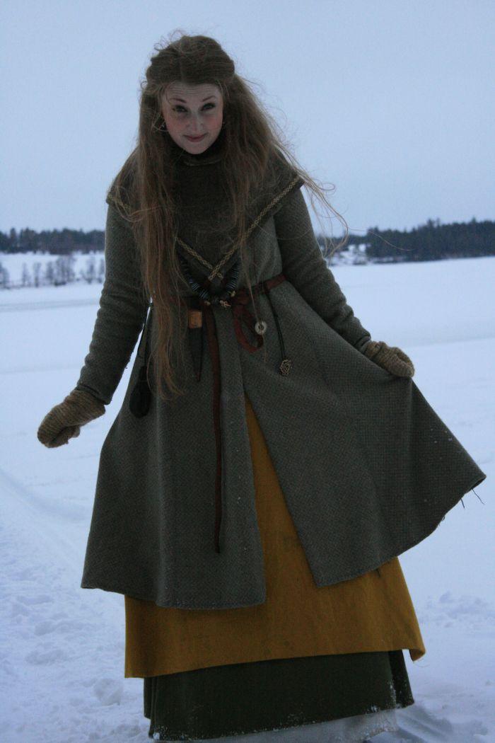 Vinterkledd viking (Tonje Årolilja Rogersdatter)