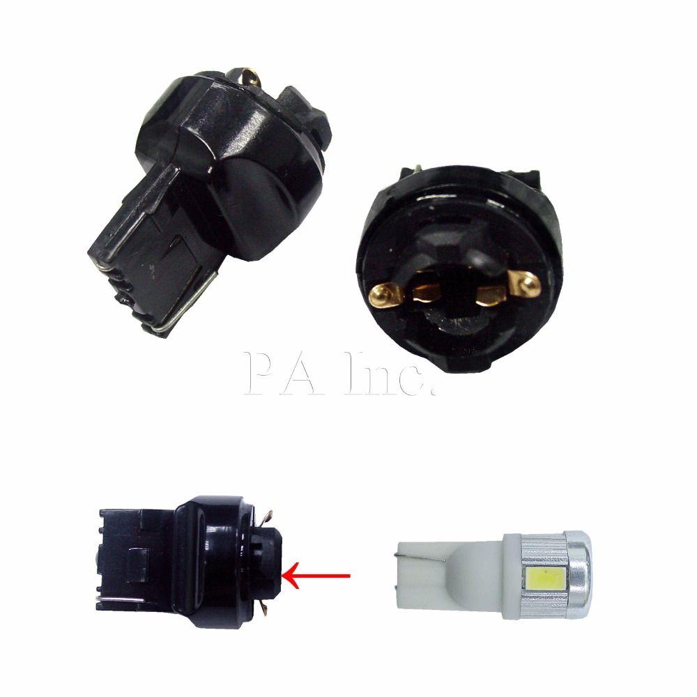 Pa Led 2pcs X T10 194 To T20 7440 Transformer Bulb Socket Base Car Lights Bulb Lights