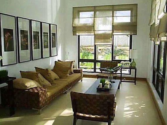 Earth Tone Interior Design  Small Living Room Ideas  Earth Custom Living Room Design For Small House Inspiration Design