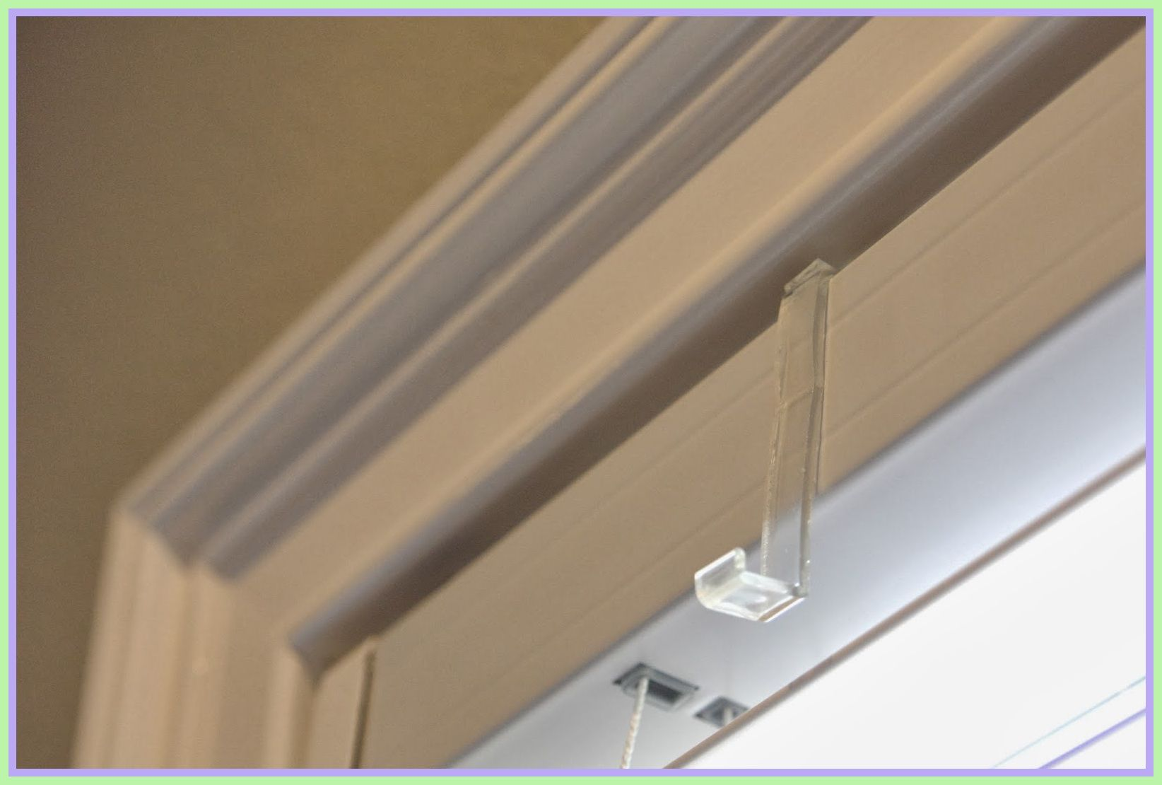 how to pull down blinds that are stuck