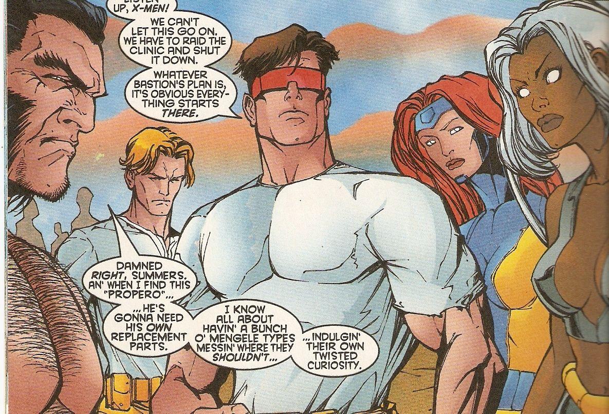 Operation Zero Tolerance Superhero Team X Men Superhero