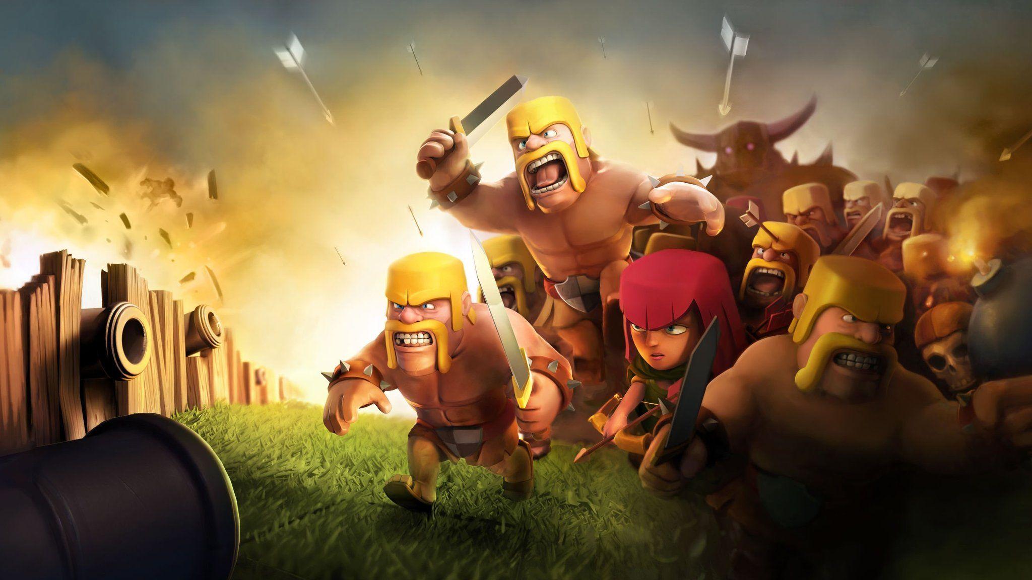 apk de clash of clans para pc