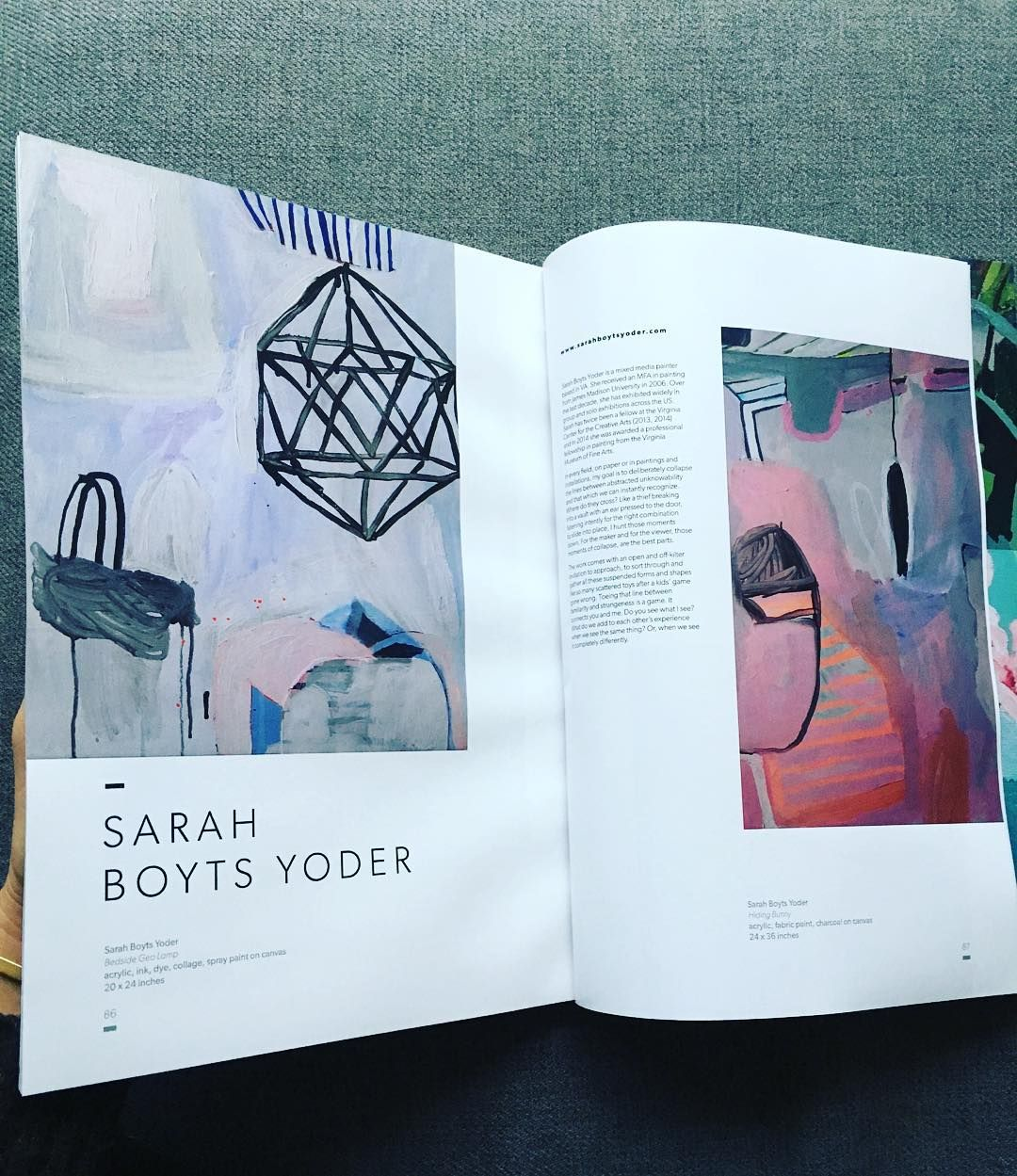 Thank you @freshpaintmag and curator @thejealouscurator ...