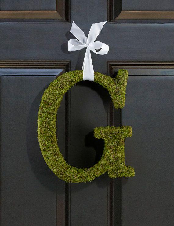 Moss Covered Letters Best Moss Covered Letters Ideal For Diy Wedding Door Decorations Or Review
