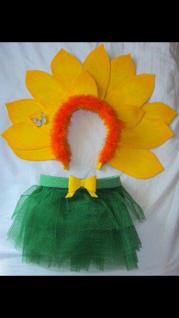 Disfraz De Flor Como Hacer Disfraces Disfraces De Niños Disfrases Para Niñas