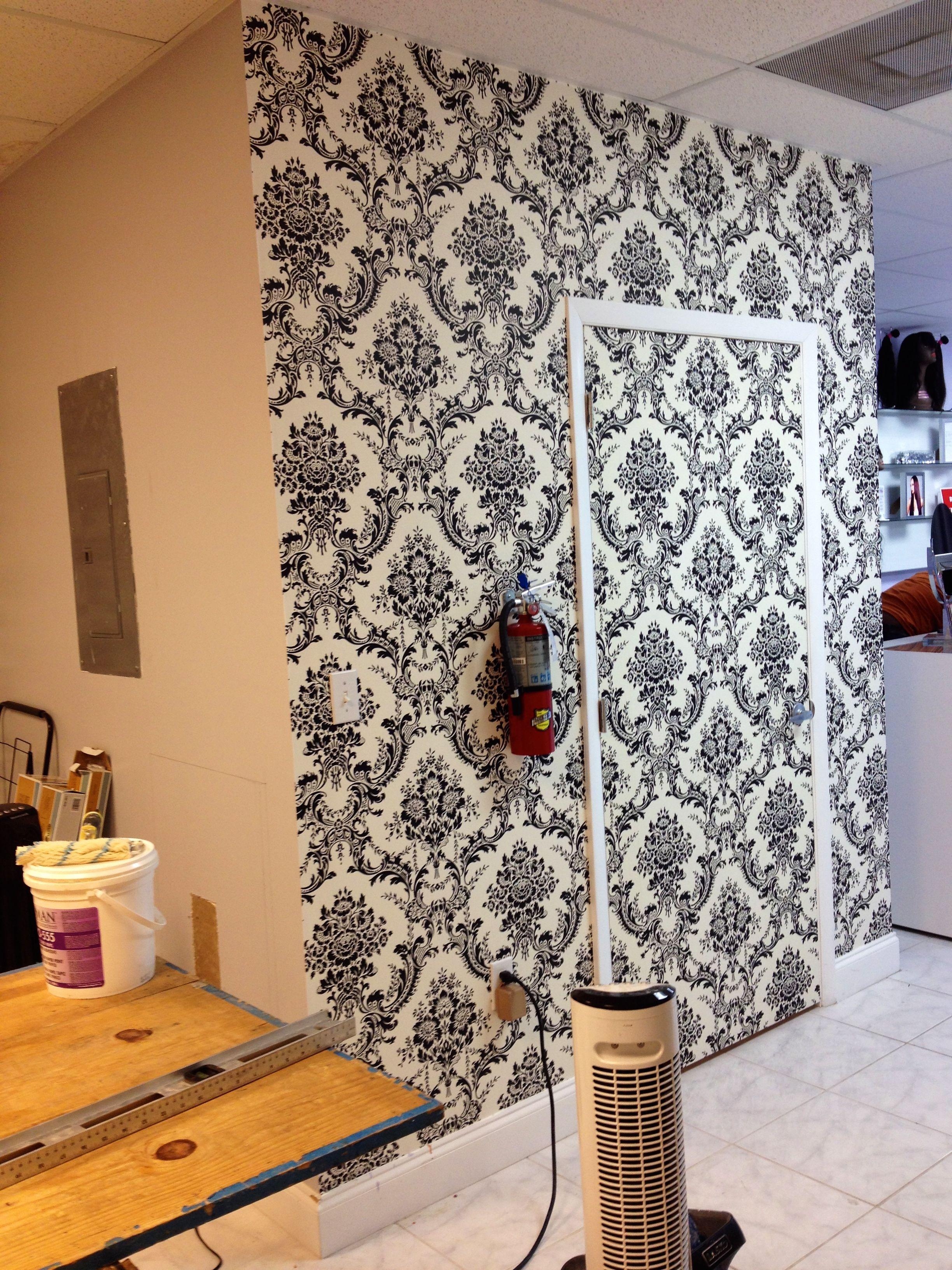 Wallpaper Wallcoverings Contractors D L Wall Design Wall Coverings Wall Design How To Install Wallpaper