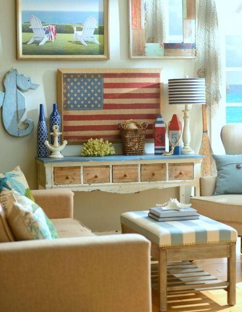 Astounding Coastal Beach Cottage Wall Decor Gallery Wall Ideas From Interior Design Ideas Skatsoteloinfo