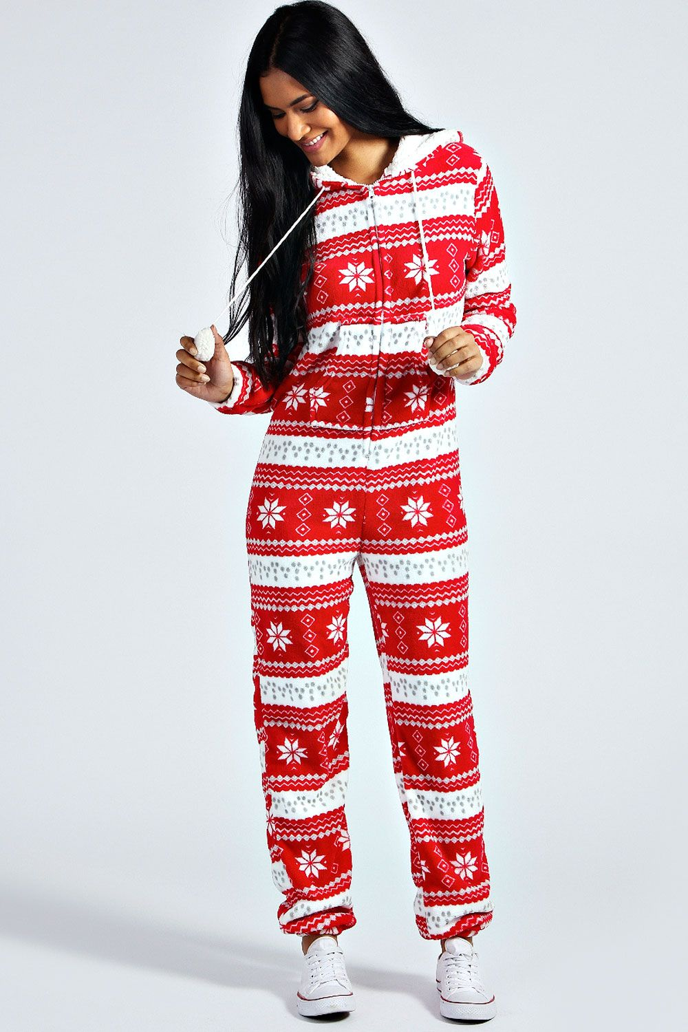 Christmas Onesie.Details About Boohoo Adult Christmas Novelty Onesie Adult