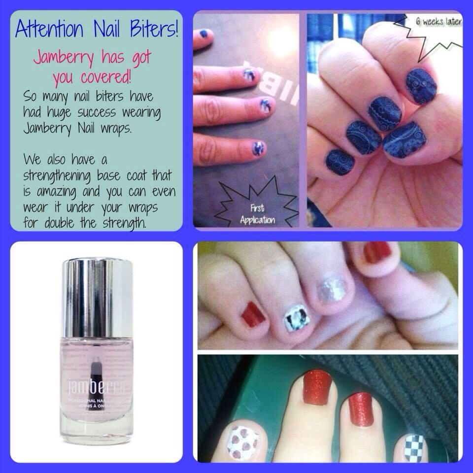 Do you think because you have short nails you can\'t wear Jamberry ...