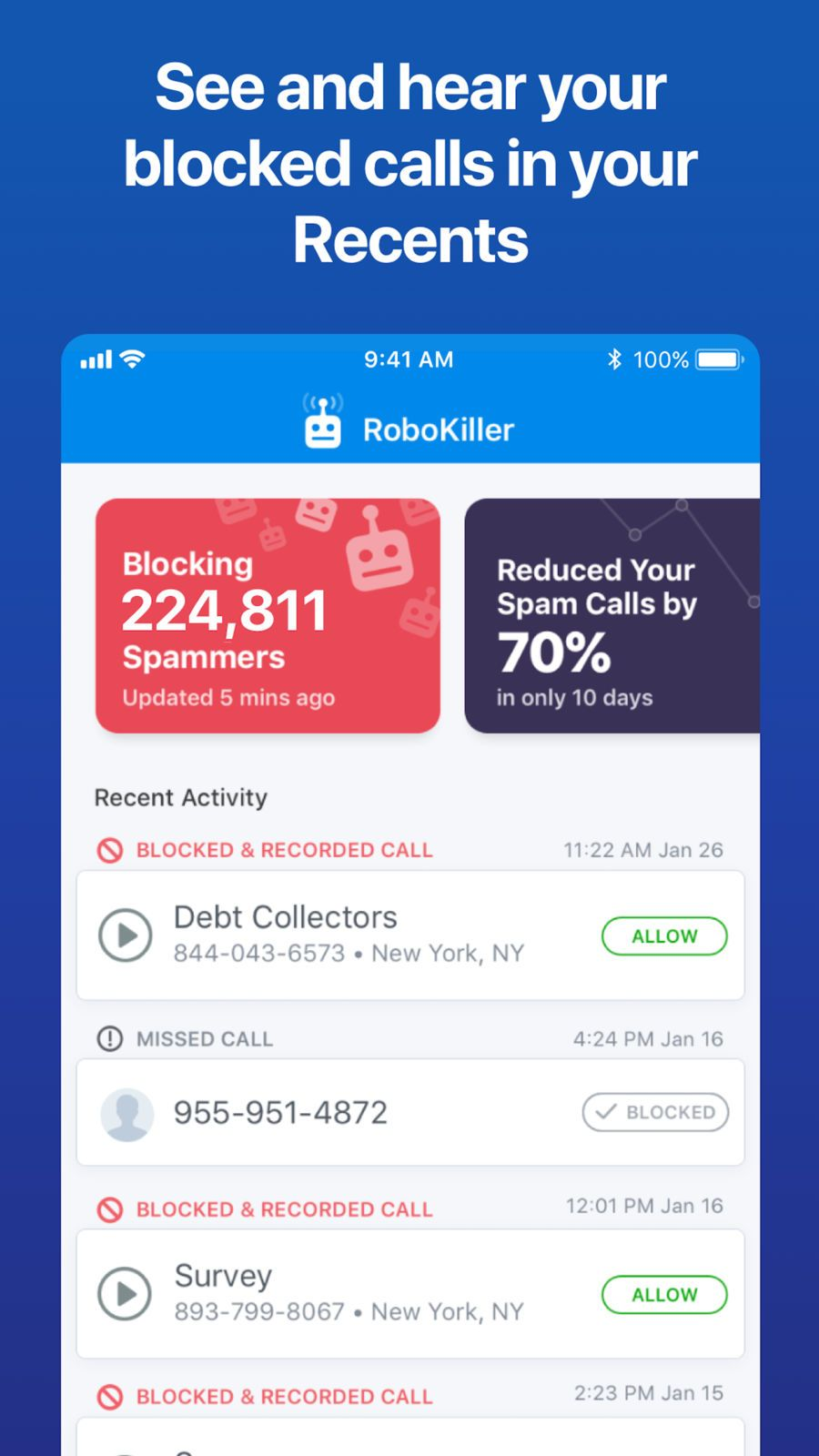 RoboKiller - Stop Spam Calls #Utilities#Systems#apps#ios