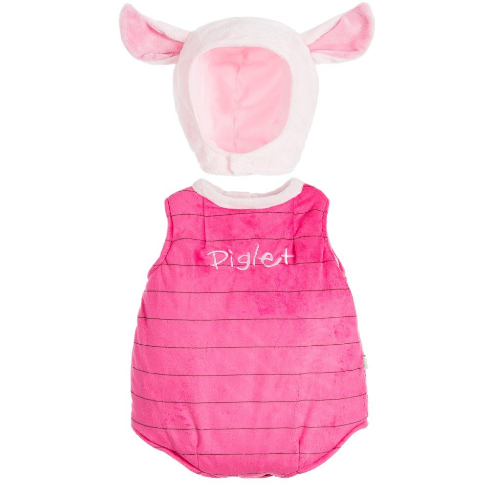 Two piece Piglet dress-up costume by Disney Baby. This soft 9bc38755b96c