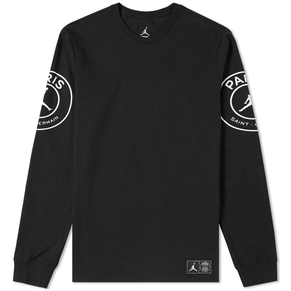 eaf8ccf393a NIKE JORDAN X PARIS SAINT-GERMAIN LONG SLEEVE TEE. #nike #cloth ...