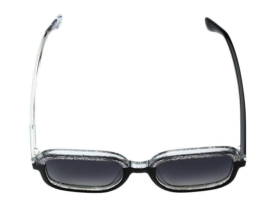 d735c079b77 Jimmy Choo Glint S Fashion Sunglasses Black Glitter Gray Dark Gray Gradient  Lens