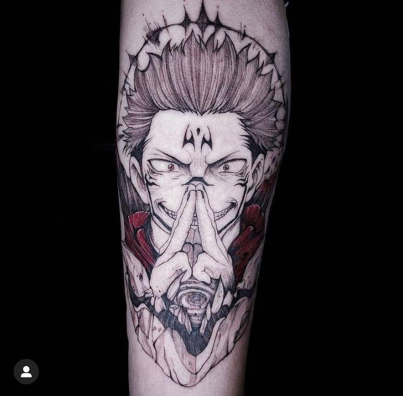Sukuna Tattoo In 2021 Japanische Tattoos Anime Tattoos Tattoo Ideen