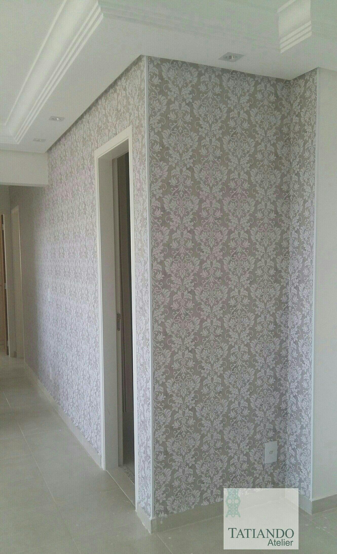 #tatiandoatelier Tecidos para parede