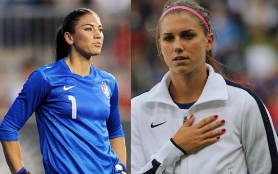 Top 5 Sexiest Players On The Us Womens National Soccer Team Click On The Image To Learn More Usa Soccer Women Us Women S National Soccer Team Soccer Team