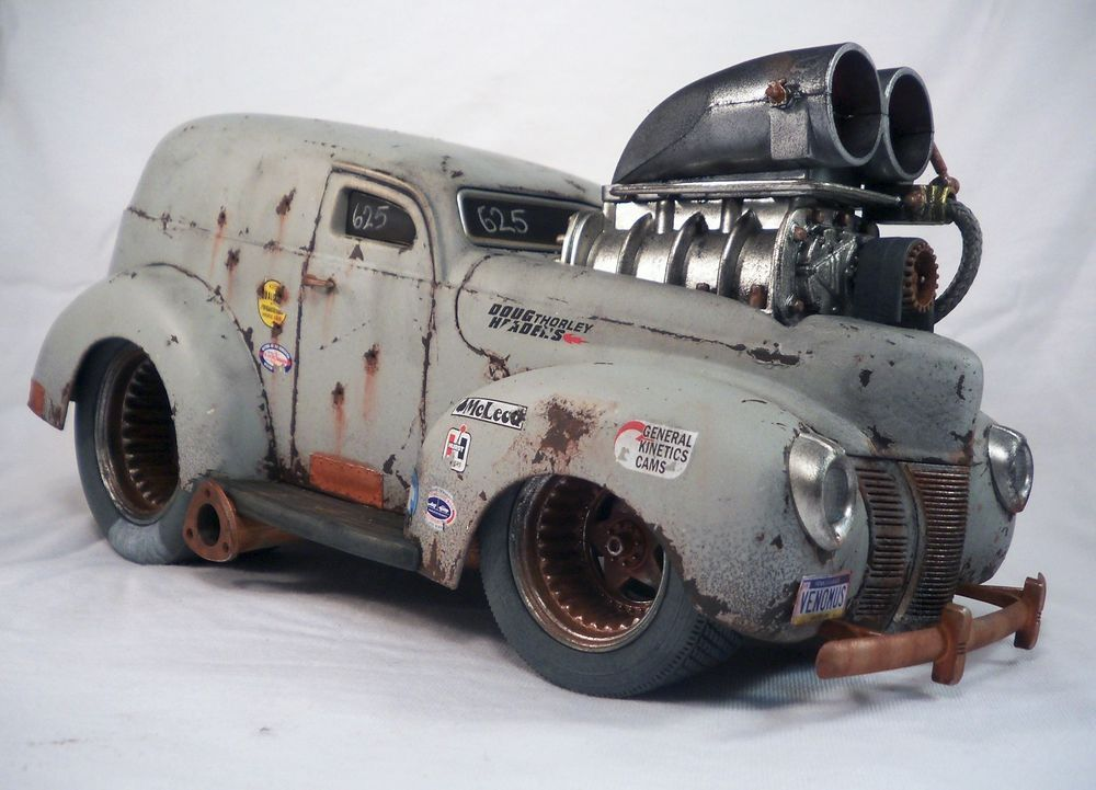 1940 Ford Delivery Muscle Machines Barn Find Weathered Unrestored 1 ...